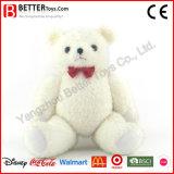 La peluche molle eccellente ha farcito il giocattolo bianco dell'orso dell'orsacchiotto per i bambini/capretti