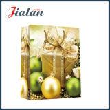 Мешок упаковки подарка колоколов рождества таможни напечатанный 4c бумажный
