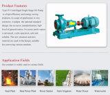 Pompa centrifuga del singolo olio di aspirazione della singola fase