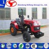 小型18HP農業機械か農場または芝生または庭またはコンパクトなかディーゼル農場または耕作トラクターまたは動かされたトラクターまたは動かされたトラクターのタイヤまたは動かされた耕作トラクター