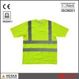 T-shirt de la Chine de force de coton d'hommes d'usine d'OEM salut