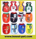 Produits en Pet Suppy Sports Accessoires Tshirt Football-Soccer Team Dog Vêtements