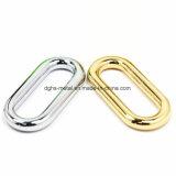 L'inarcamento quadrato in lega di zinco del metallo caldo di vendita per il sacchetto parte gli accessori delle merci del cuoio di pattini dell'inarcamento di cinghia (Yk972b, 1017, 1019, 1026b, 1141)