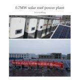 EUの市場のためのDDPの価格の高性能265Wの多太陽電池パネル