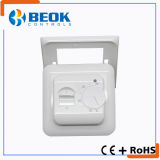 termóstato mecánico simple de Cnotroller de la temperatura ambiente del termóstato eléctrico 16A