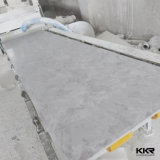 Folha de superfície contínua acrílica do teste padrão de mármore da textura
