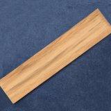 Glasig-glänzende Oberflächenalgerien-Keramikziegel-Schlafzimmer-Fußboden-Großverkauf-Holz-Fliese
