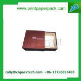 Handgemachter Luxuxgoldfolien-gestempelter verpackenkasten