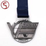 Подгонянное медаль металла спорта способа