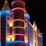 大建築物の装飾コントローラが付いているアドレス指定可能なLED RGBの滑走路端燈