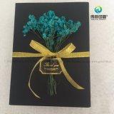 Rectángulo de regalo de empaquetado del papel de imprenta de la alta calidad clásica del estilo