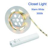 부엌 옷장 PIR 운동 측정기 램프를 위한 내각 빛 SMD 3528 LED의 밑에 LED