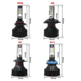 IP68 impermeabile luminoso eccellente 6500K H4 H7 H11 9012 9005 kit di conversione del faro dell'automobile LED di 40W 8000lm