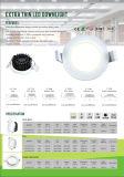 Plana de 13W 3 años de garantía de IP44 Resistente al agua Downlight LED regulable