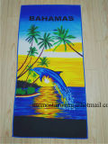 Выдвиженческое оптовое полотенце пляжа печатание Microfiber
