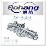 Cubierta del refrigerador de petróleo de Nissan PF6t del recambio del motor de Bonai (21302-97513)