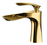 Faucet magnífico intemporal luxuoso antigo do misturador da bacia Zf-0151 do estilo de vida