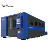 preço de fábrica da máquina da estaca do laser da fibra de Ipg do metal 1kw