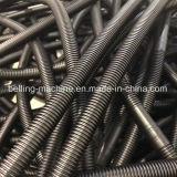 Extrudeuse de pipe du plastique PVC/PP/PE/machine ondulées à mur unique de fabrication