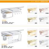 Goldene Farben-Aluminiumküche-Speicher-Regal (DL45)