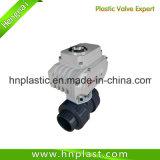 110VAC에 의하여 전기 자동화된 통제 CPVC 플라스틱 공 벨브