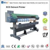 Alta resolución de 1440dpi dx5 el cabezal de impresión la impresora solvente Eco 3,2 millones de tamaño de impresión para Flex Banners