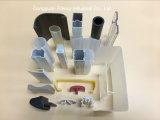 플라스틱 밀어남 LED 램프 갓 & 덮개 & 관 12