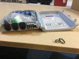 Montaje en pared FTTH Fibra Sc 8 Puertos la caja de bornes con adaptador y la Coleta