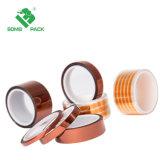Resistente al calor de alta temperatura Kaptons película poliimida cinta cinta adhesiva de silicona
