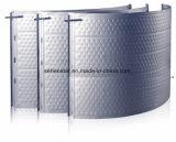 Protection de l'environnement et plaque efficace de transfert thermique de plaque de bosse de conservation de la chaleur
