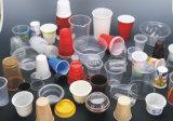 Copos de plástico, máquina de formação para material de PP