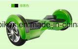 Scooter de deriva com auto balanceamento de 8 polegadas com RC, Bluetooth, piscando para a direita