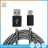 Cavo di dati del USB di lunghezza 5V/2.1A di Custimized micro per il telefono mobile