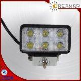 4.5inch 9W LED Auto-fahrendes Licht für Auto, IP67, Rhos-Bescheinigung