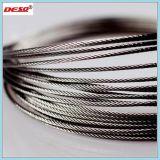 Corde galvanisée à chaud du fil d'acier 6*36