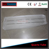 16x1000mm transparente de tubo de vidrio de cuarzo de sílice fundida (ISO9001: 2008).