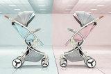 Neuer Entwurfs-Luxuxfalten-Baby-Spaziergänger-BabyPram mit Cer