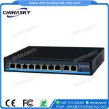 8+2 1RJ45アップリンクのポート10/100Mbps Poeのネットワークスイッチ(POE0820BNH)