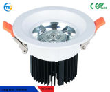 Hot Sale 6W 220V Sharp puce Embedded Nature plafond blanc lampes LED commerciale