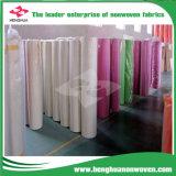 Color no tejido de las telas del 100% PP Spunbond sentido para la decoración