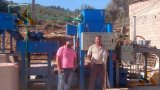 Chaîne de production en céramique automatique de carrelage de toit