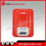 Sirena e stroboscopio del fuoco per il sistema di segnalatore d'incendio di incendio