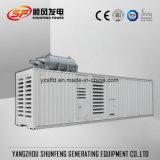 Insonorisées Conteneur de 750kVA Puissance électrique générateur diesel avec moteur Cummins