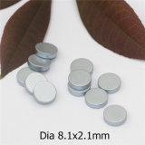 Kundenspezifischer D8.1X2.1mm Neodym-Magnet