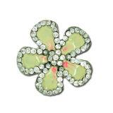 La aleación del cinc de la fabricación calza las decoraciones de la flor, accesorios de los zapatos