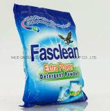 Pó extra do detergente da potência de Fasclean da fragrância perfeita