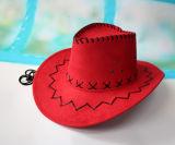 Sombrero de vaquero de encargo barato occidental del ante