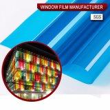 Пленка высокого качества пленки окна голубая декоративная
