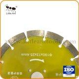 중국 노란 화강암 다이아몬드 절단은 톱날을