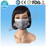 Masque protecteur non-tissé remplaçable avec la boucle/relation étroite d'oreille en fonction